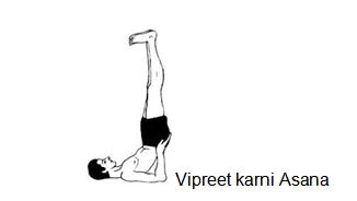 Vipreet Karni Asana