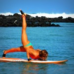 Paddleboard yoga: World's latest fitness trend